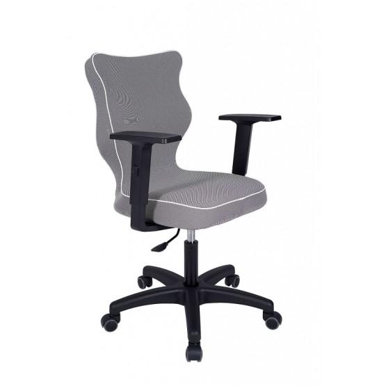 Krzesło obrotowe Luka - rozmiar 6, lamówka biała R1