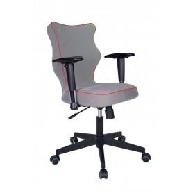 Krzesło obrotowe Luka Plus roz 6 lam czerw stel czar R1