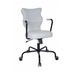 Krzesło obrotowe Deco - roz 6, stelaż czarny, miętowe R1