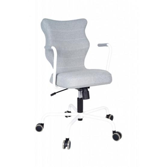 Krzesło obrotowe Deco - rozmiar 6, stelaż biały, miętowy R1