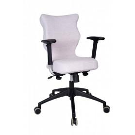 Krzesło obrotowe Deco Prestiż–roz6, stel. czar, melanż R1