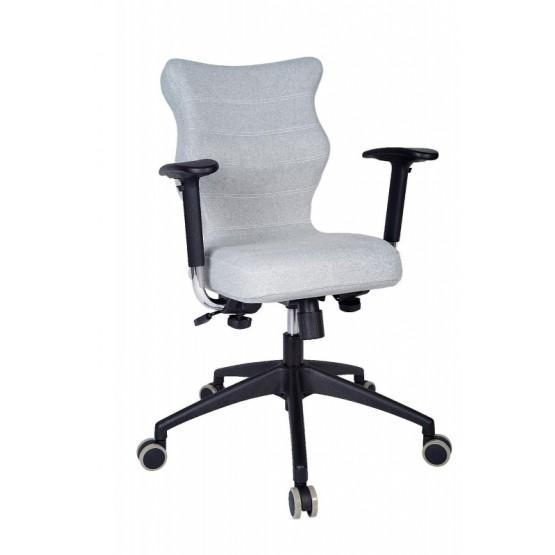 Krzesło obrotowe Deco Prestiż–roz6, stel. czar, mięta R1