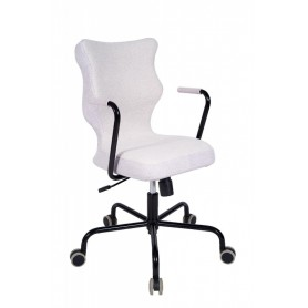 Krzesło obrotowe Lavre – roz.6,stelaż czarny, pistacjowy R1