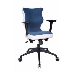 Krzesło obrotowe Lavre Prestiż-r.6, stelaż czar, granat R1