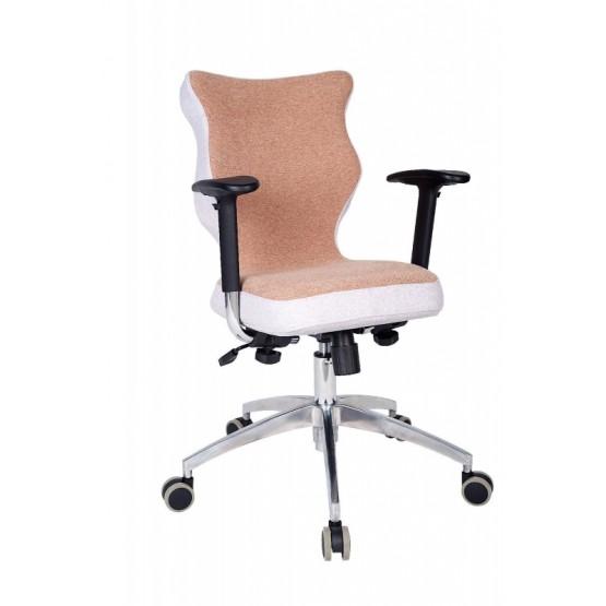 Krzesło obrotowe Lavre Prestiż-roz.6 stelaż poler, brąz R1