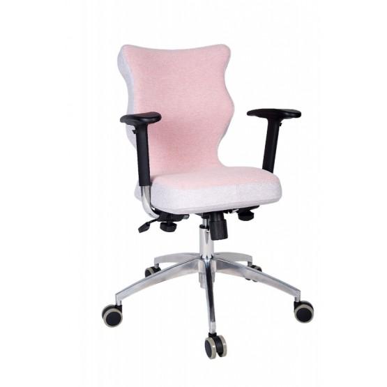 Krzesło obrotowe Lavre Prestiż-roz.6 stelaż poler, róż R1