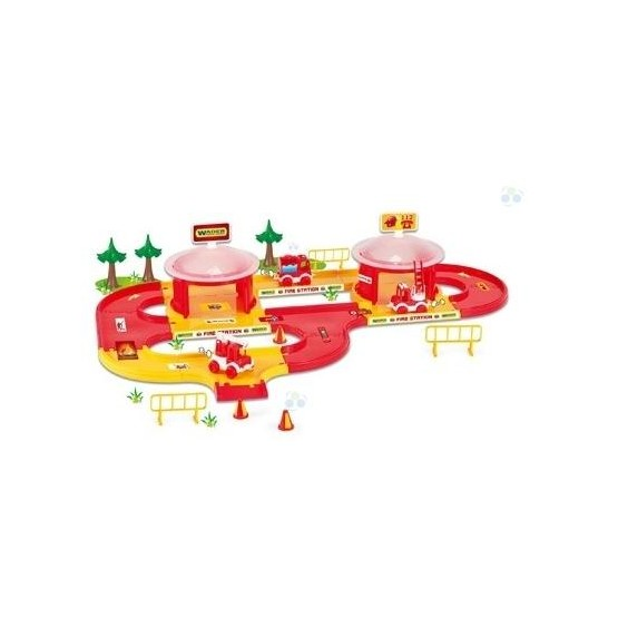 KID CARS 3D STRAŻ POŻARNA WADER - 53310 A1