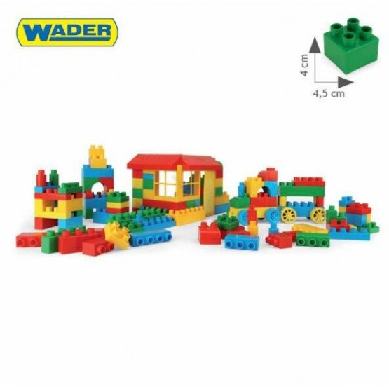 KLOCKI 102 ELEMENTY WADER - 41290 A1