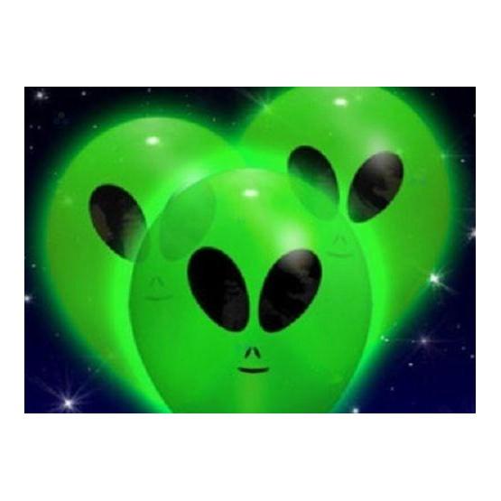 PODŚWIETLANE BALONY LED HALLOWEEN UFO