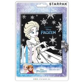 Starpak Pamiętnik zamykany z pisakami Frozen N1
