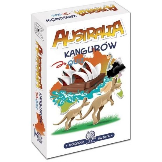 Gra rodzinna Dookoła świata. Quiz: Australia kangurów