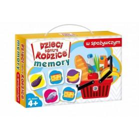 Gra memory Dzieci kontra rodzice: MEMORY w spożywczym