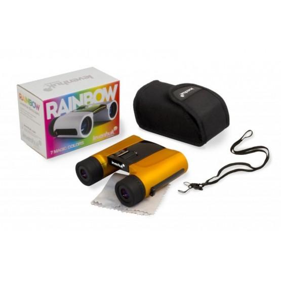 Lornetka Levenhuk Rainbow 8x25 - pomarańczowa M1