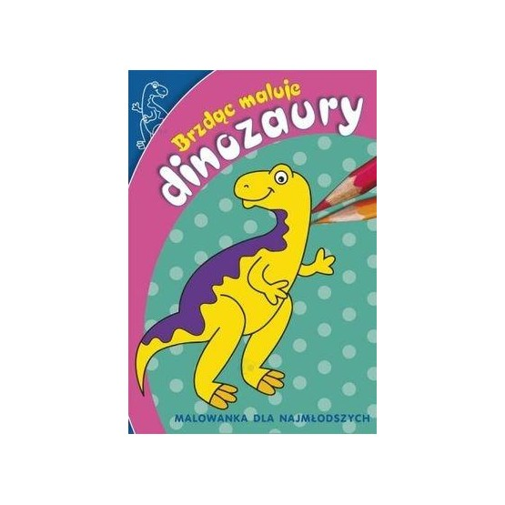 Brzdąc maluje - dinozaury