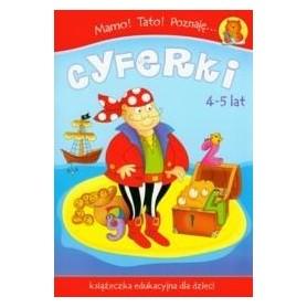 Mamo Tato Poznaję cyferki Książeczka edukacyjna 4-5lat