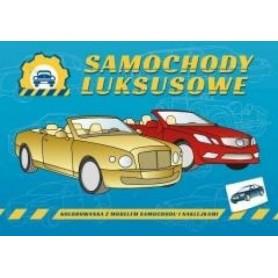 Samochody luksusowe - kolorowanka dla dzieci