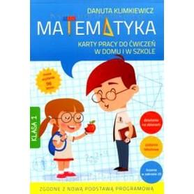 Matematyka Klasa 1 Szkoła podst. Karty pracy w domu i szkole