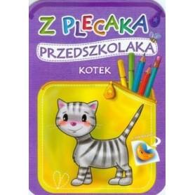 Z plecaka przedszkolaka. Kotek