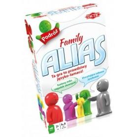 GRA EDUKACYJNA RODZINNA FAMILY ALIAS TACTIC WERSJA PODRÓŻNA