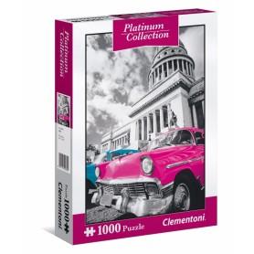 PUZZLE SAMOCHÓD 1000 METALICZNE Platinum Collection CUBA