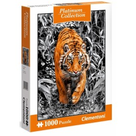 PUZZLE TYGRYS 1000 ELEMENTÓW CLEMENTONI Platinum Collection