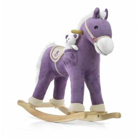 Koń Pony Purple NA BIEGUNACH B1