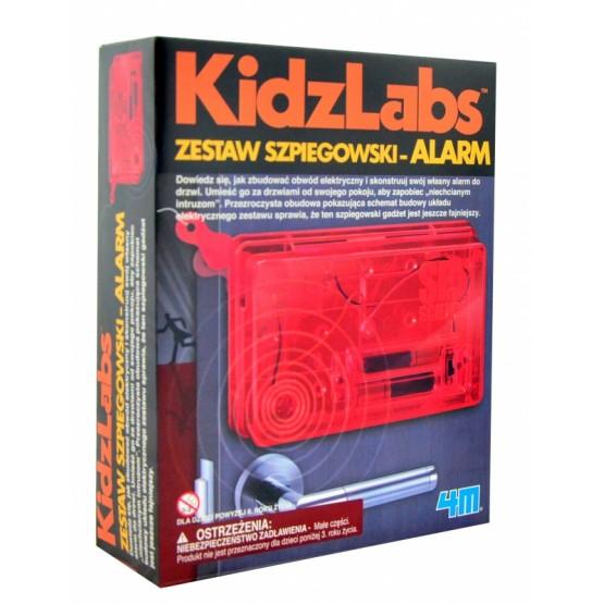 ZESTAW SZPIEGOWSKI - ALARM KIDZ LABS 4M