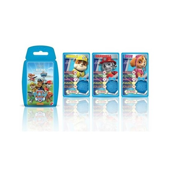 TOP TRUMPS PAW PATROL