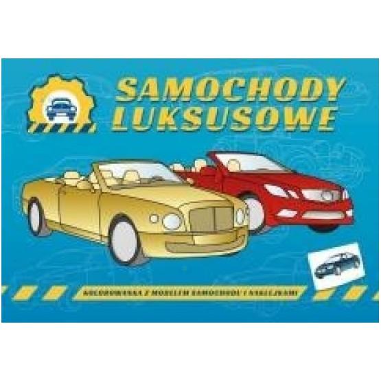 Samochody Luksusowe Kolorowanka Dla Dzieci Malakoala