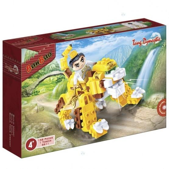 Klocki BanBao 6611 Dynastia Tang Ninja na Tygrysie 158el N1