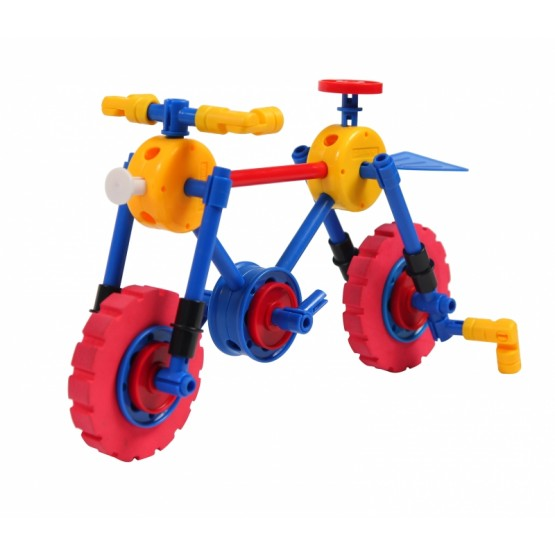 KLOCKI THINKERTOY 52 ELEMENTY BICYCLES