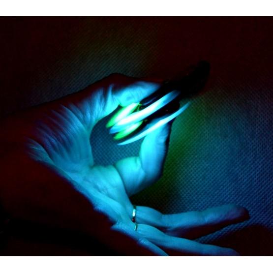 ORYGINALNY HAND SPINNER FIDGET SPINNER ŚWIECĄCY CZERWONY
