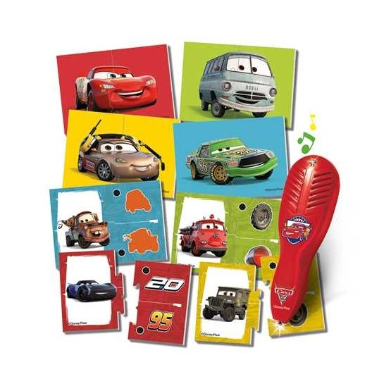GRA KOJARZ I UCZ SIĘ CARS AUTA 3 Z PIÓREM