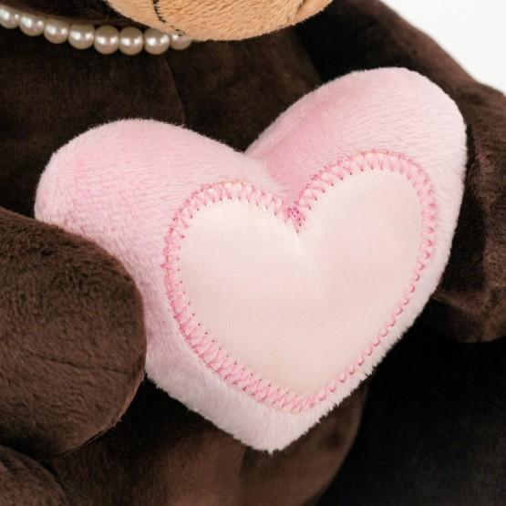 Przytulanka Pani Milk z sercem - 15cm T1