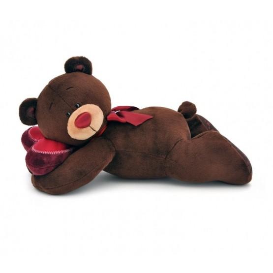 Przytulanka Pan Choco śpiący miś - 20cm T1
