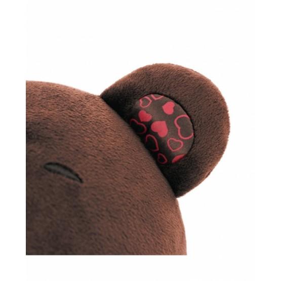 Przytulanka Pan Choco siedzący miś - 29 cm T1