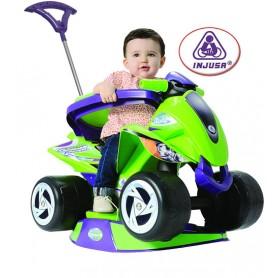 Jeździk INJUSA 6w1 QUAD GOLIATH pchacz dla małych dzieci