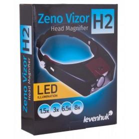 Lupa nagłowna Levenhuk Zeno Vizor H2 M1