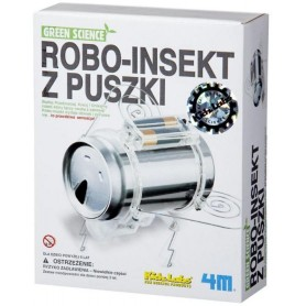 ROBOT-INSEKT Z PUSZKI.GRREN SCIENCE 4M