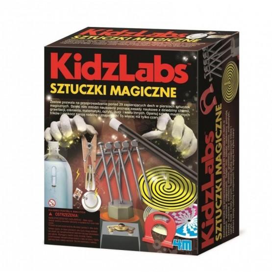 SZTUCZKI MAGICZNE - KIDZ LABS 4M