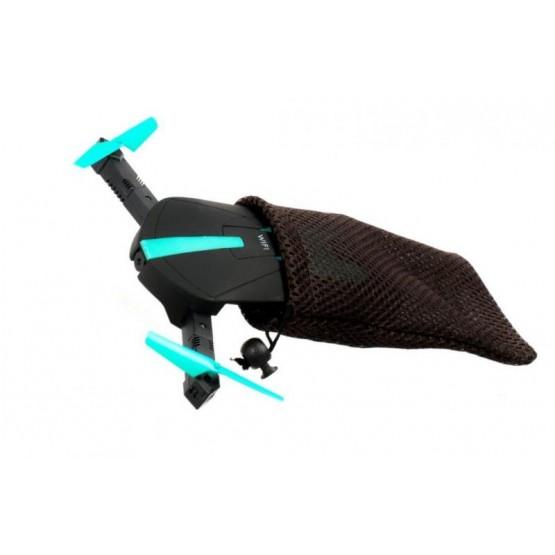 Dron mini RC Selfie JY018 składany WIFI HD 360 E1