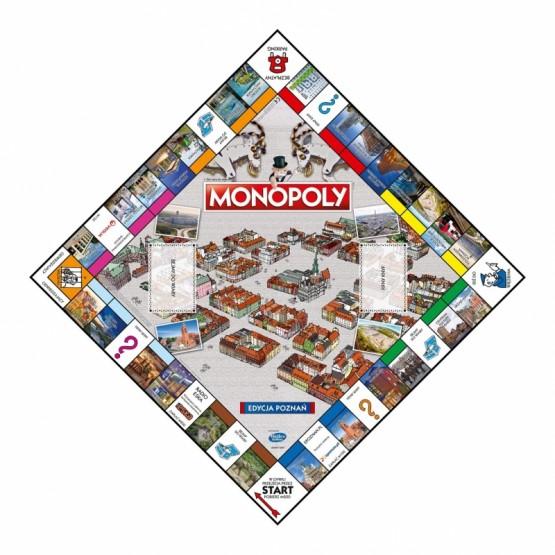 MONOPOLY POZNAŃ SERIA POLSKA