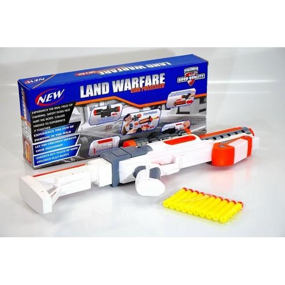 Pistolet na miękkie pociski wyrzutnia przyssawki N1