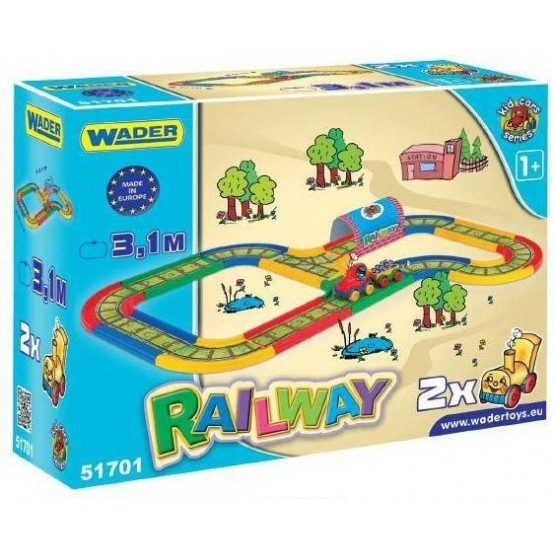 Wader 51701 Kolejka Kid Cars 3,1m A1