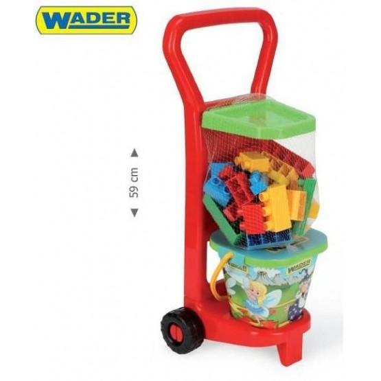 Wader 10777 Wózek z Klockami A1