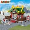 Klocki BanBao 6609 Dynastia Tang Świątynia górska N1