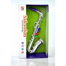 Bassko Saksofon jak prawdziwy gra instrument muzyczny N1