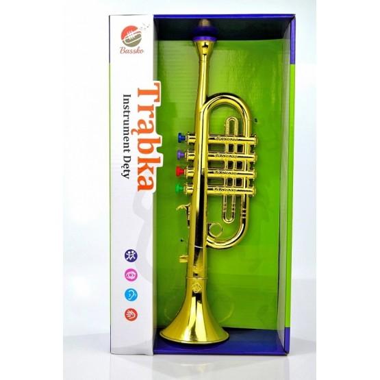Bassko Trąbka jak prawdziwa gra instrument muzyczny N1
