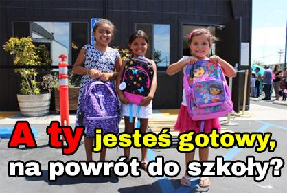 Plecaki, piórniki - powrót do szkoły
